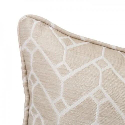 COJIN JACQUARD POISE POLIESTER TAUPE 45 X 33 CM