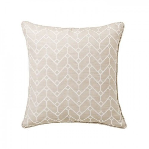 COJIN JACQUARD POISE POLIESTER TAUPE 45 X 45 CM