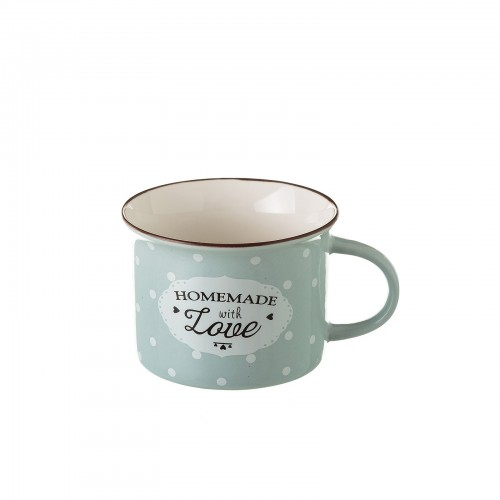 TAZA MUG GRIS NEW BONE CHINA 7,40 X 7,70 X 5,50 CM CAPACIDAD: 170 CC.