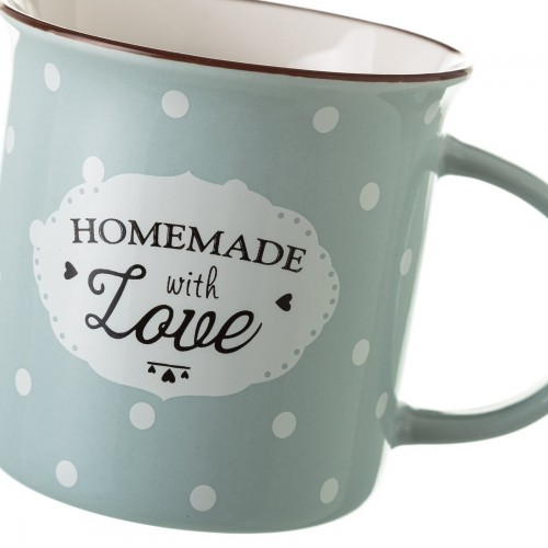 TAZA MUG GRIS NEW BONE CHINA 7,80 X 7,70 X 7,40 CM CAPACIDAD: 230 CC.