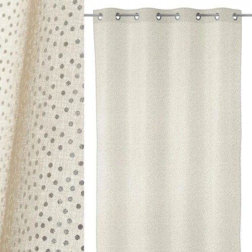 VISILLO TIPY POLIESTER TAUPE 140 X 260 CM