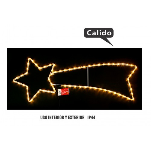 ESTRELLA LUCES 3 MTS MULTIFUNCIONES INTERIOR/EXTERIOR IP44 CALIDO