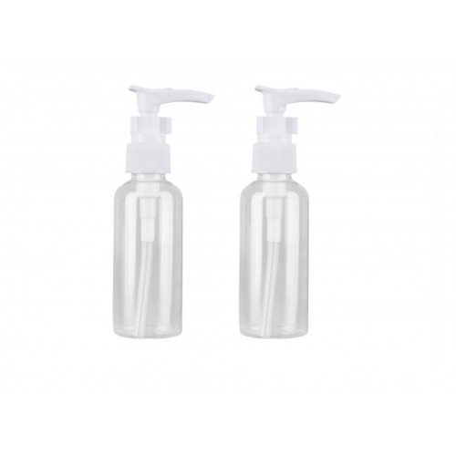 BOTE DISPENSADOR PLASTICO 2 PCS 100 ML
