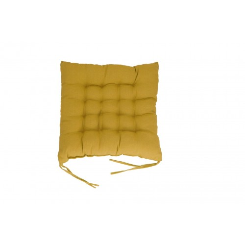 COJIN SILLA LIVING COLOURS AMARILLO 40X40X7 CM