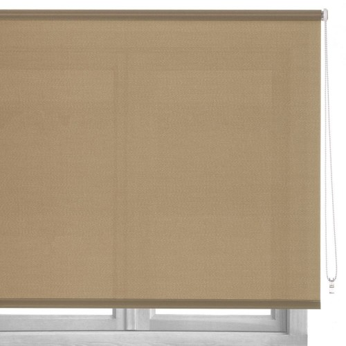 ESTOR LOVING COLOURS POLIESTER BEIGE 100 X 250 CM